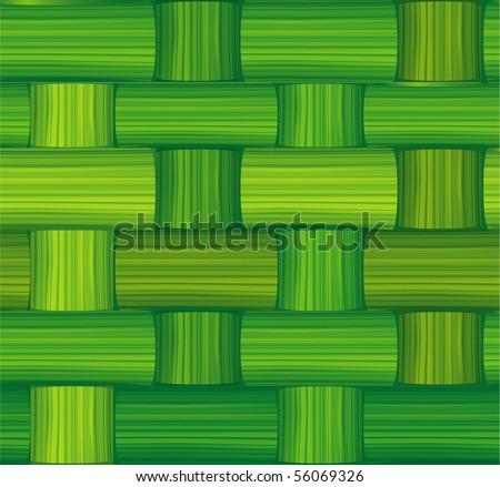 Seamless Bamboo Green Bamboo Mat Seamless