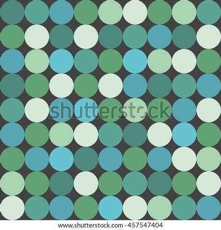 green big dots tile vector