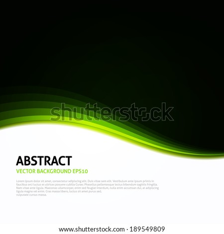 green   black   white abstract