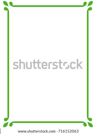 stock-vector-green-border-frame-vector-vintage