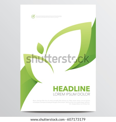 green brochure or annual report