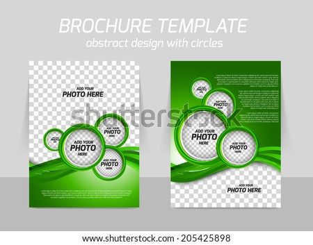 Green Poster Template Download Free Vector Art Graphics – Green Flyer Template