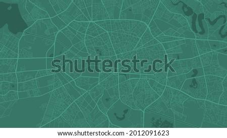 green bucharest city area