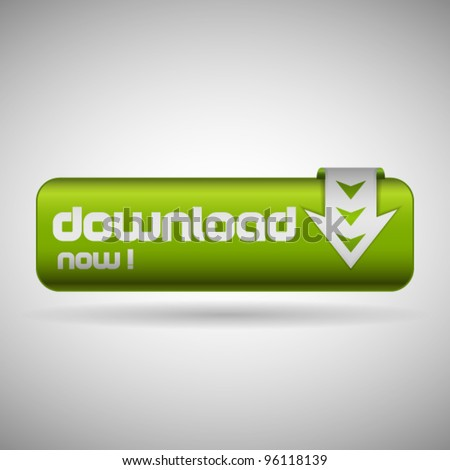 Green button with arrow and text: download now!