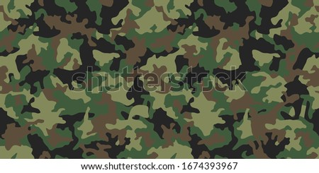 green camouflage seamless