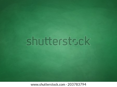 green chalkboard background