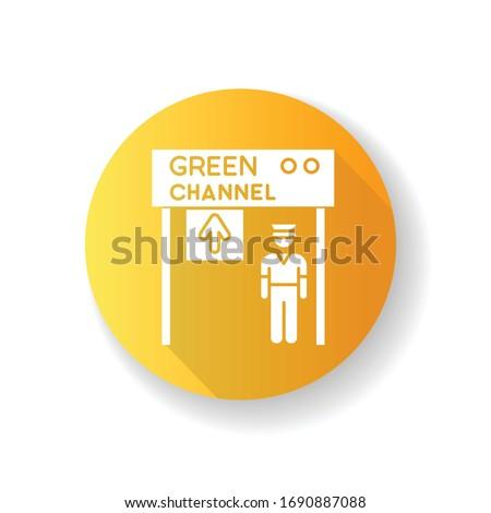 green channel yellow flat