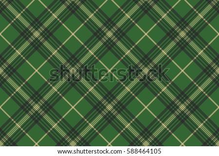 green check plaid tartan