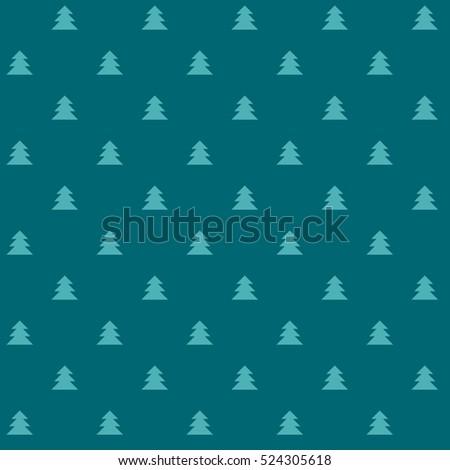 green christmas vector seamless
