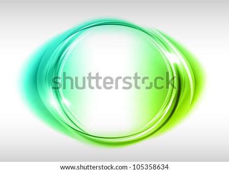 green circle on the light
