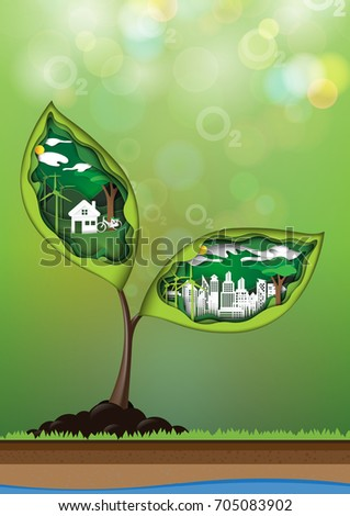 green city and eco living