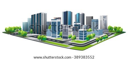 green city. design of lifestyle ...