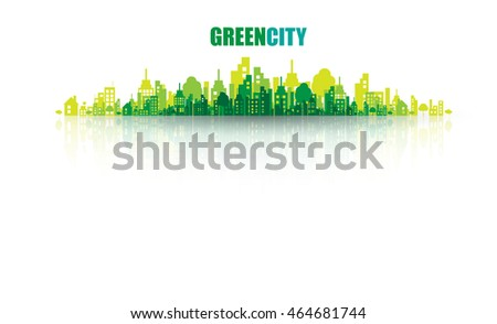green city ecology concept