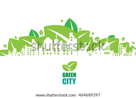 green city ecology concept