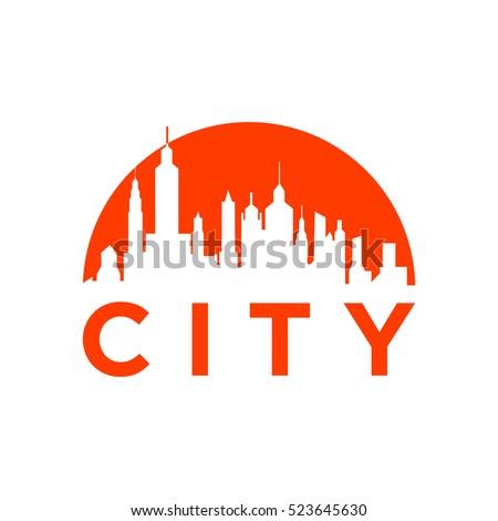 green city logo vector