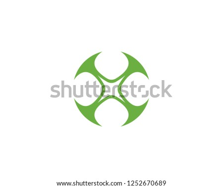 Green Clover Leaf Logo Template Design #1252670689