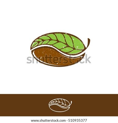 green coffee and tea logo design