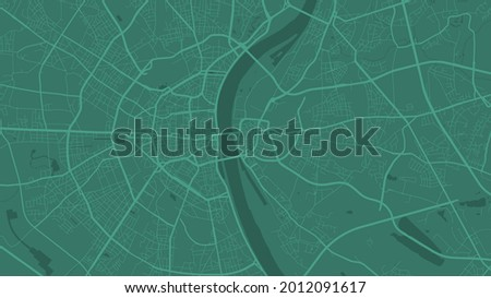 green cologne city area vector