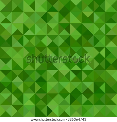 green color triangle mosaic