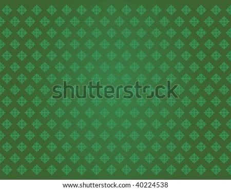 green cross texture of...
