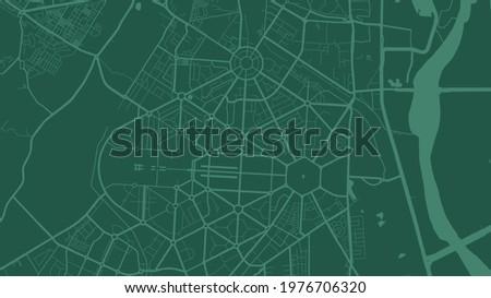 green delhi city area vector