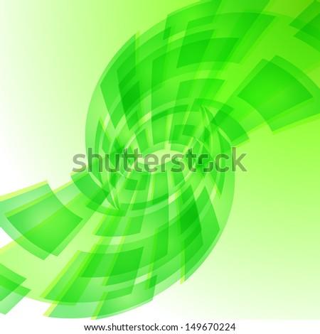 Green digital background. Illustration for creative design