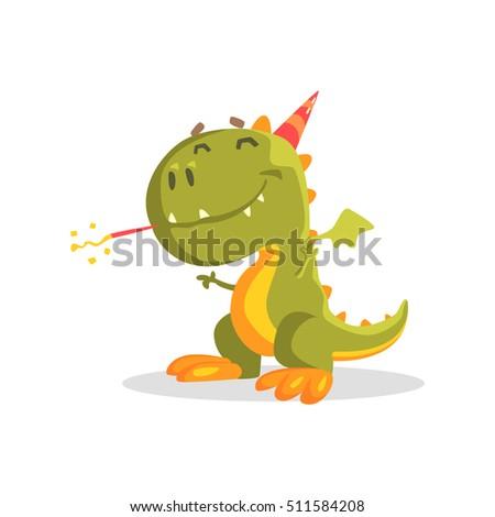 green dinosaur monster at the