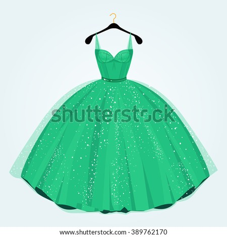 green dress for special event