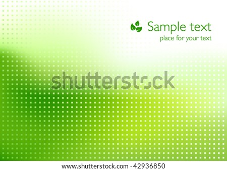 Green Eco background - Shutterstock ID 42936850