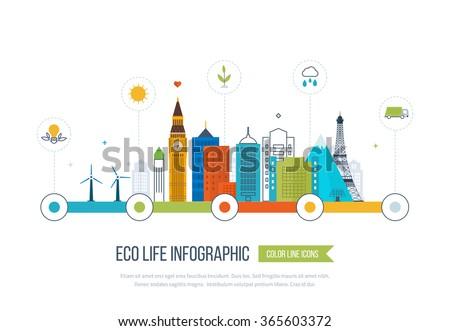 green eco city and eco life