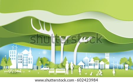 green eco city and life paper