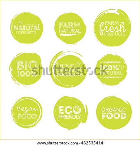 green eco food labels health