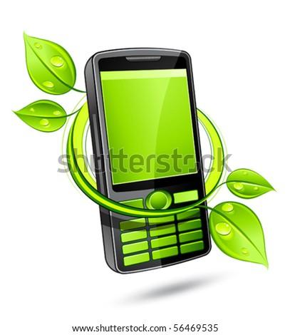 Green eco phone