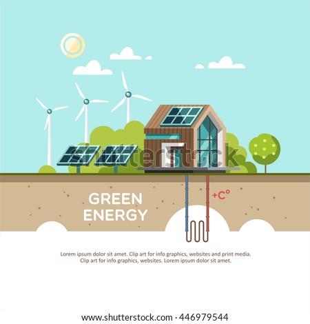 green energy an eco friendly...