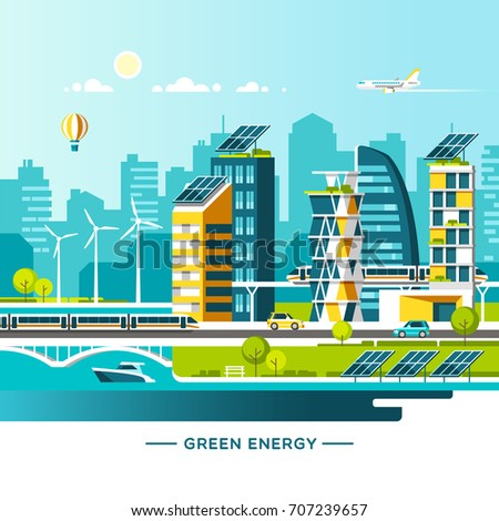 green energy and eco friendly