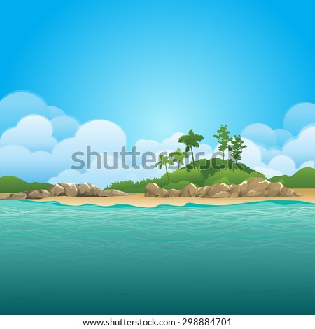green environment illustration