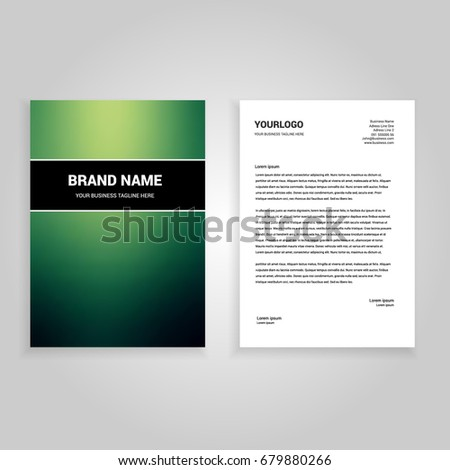 green gaussian blur minimal