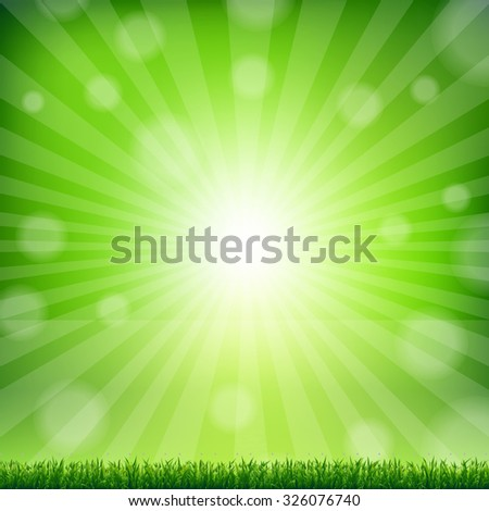 green grass border with