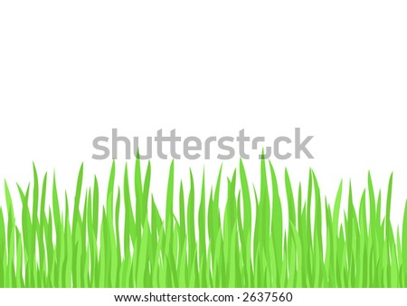 Green Grass (editable vector image) - also available rasterized jpeg in my portfolio