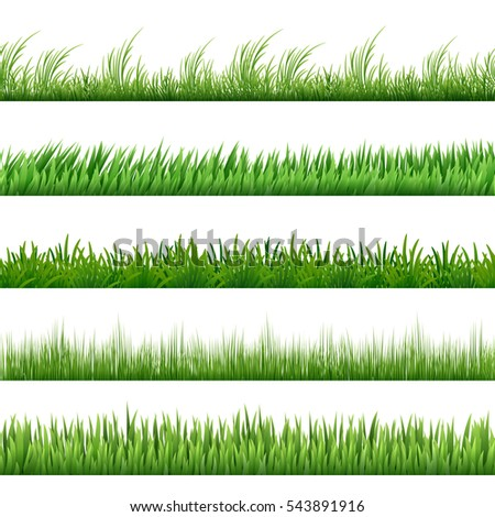 green grass pattern set macro