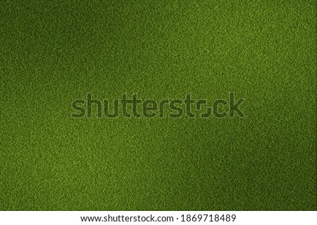 Green grass texture vector background. Green Soccer Field. Fresh lawn grass texture. Perfect green grass carpet. Textured soccer or football field. Grass backdrop for your design. Vector illustration