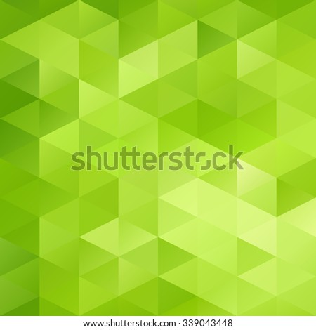 green grid mosaic background