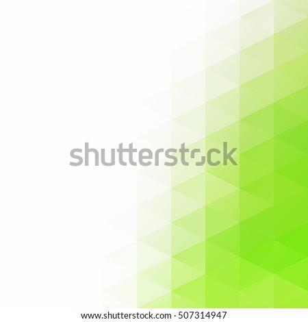 Green Grid Mosaic Background, Creative Design Templates