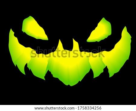 green grinning jack lantern