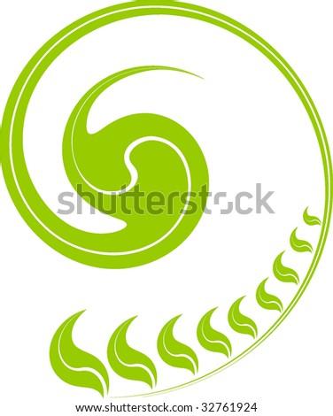 Green growind seed, concept art