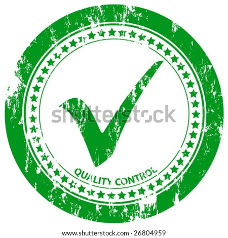 Green grunge approved stamp on a white background. Vector illustration.