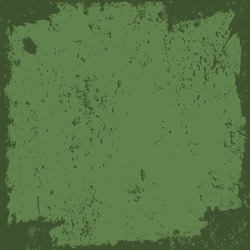 Green Grunge background with a light spot in the middle and dark frame is a typical theme presenting old view. You can use this illustration for any types of advertisments or presentations.