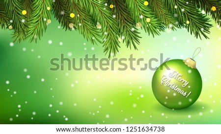 green horizontal background for
