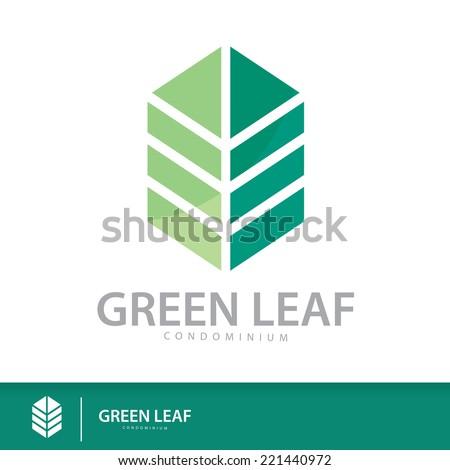 green leaf condominium logo