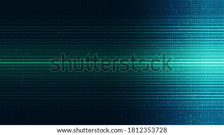 Green Light Technology Background,Hi-tech Digital and Internet Concept design,Free Space For text in put,Vector illustration. Photo stock ©